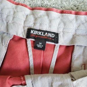 Kirkland Signature Shorts - Kirkland Men's Twill Stretch Chino Style Shorts